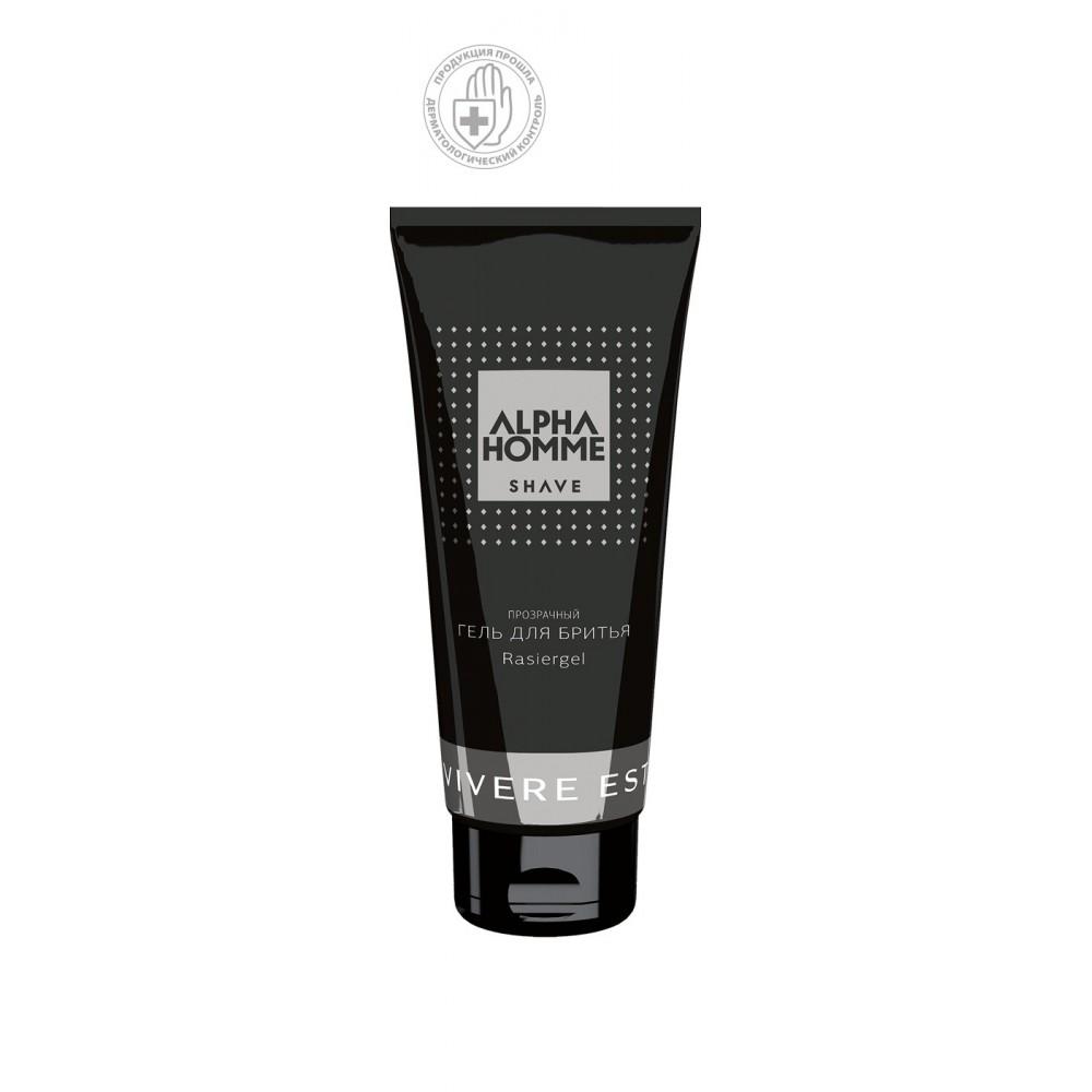 Прозрачный гель для бритья Otium Alpha Homme Estel