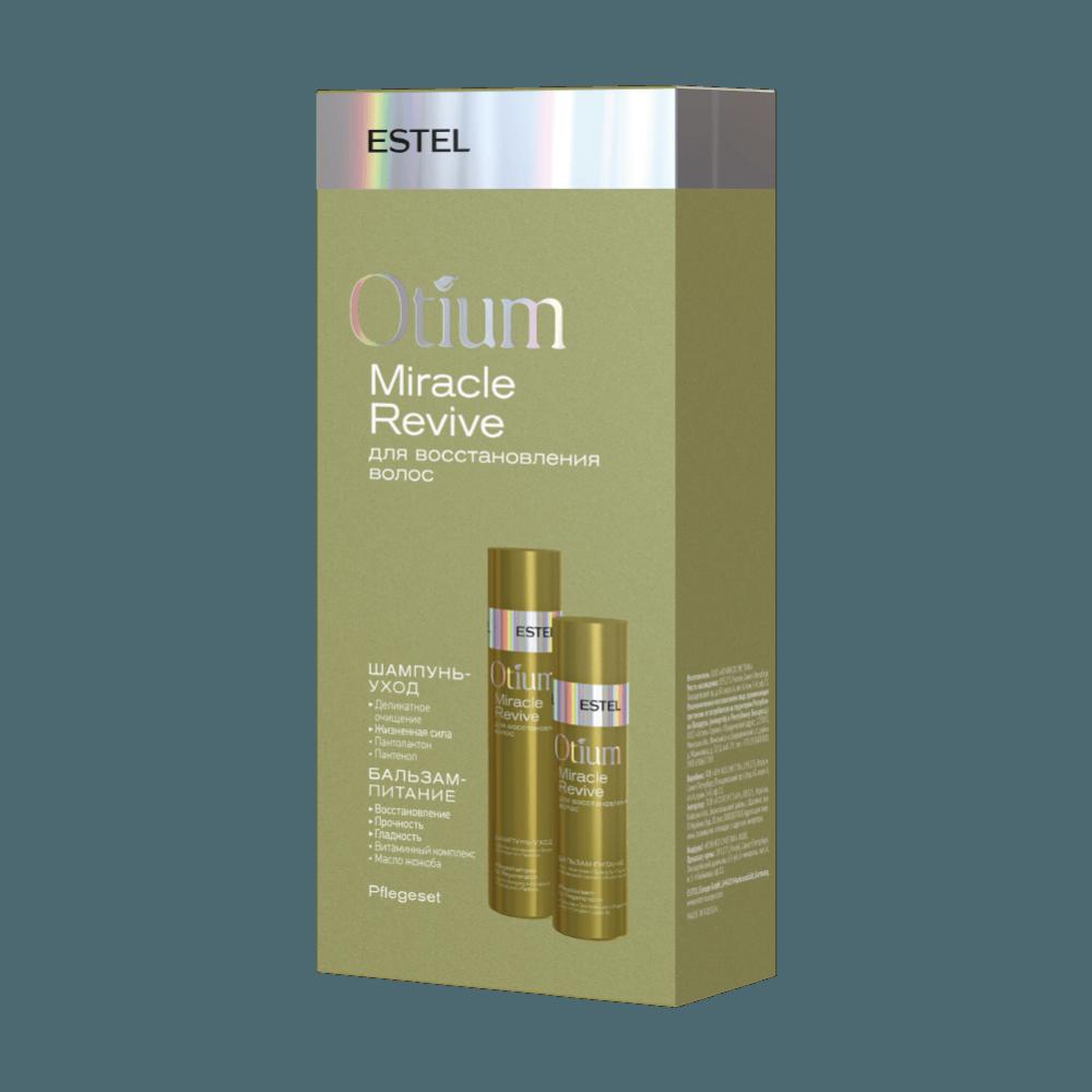 Набор для восстановления волос Otium Miracle Revive Estel