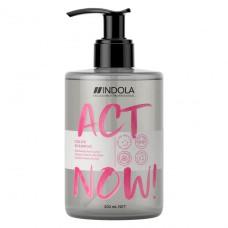 Шампунь для окрашенных волос ACT NOW Indola