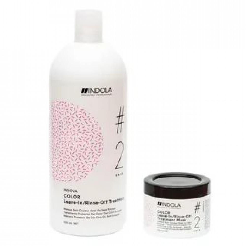 Маска для окрашенных волос Indola