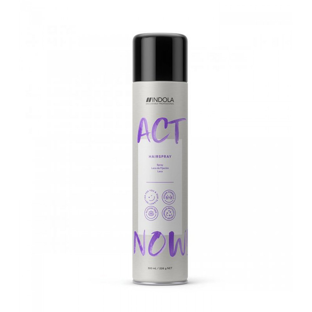 Лак для волос ACT NOW Indola
