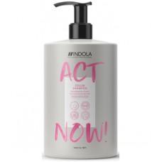 Кондиционер для окрашенных волос ACT NOW Indola