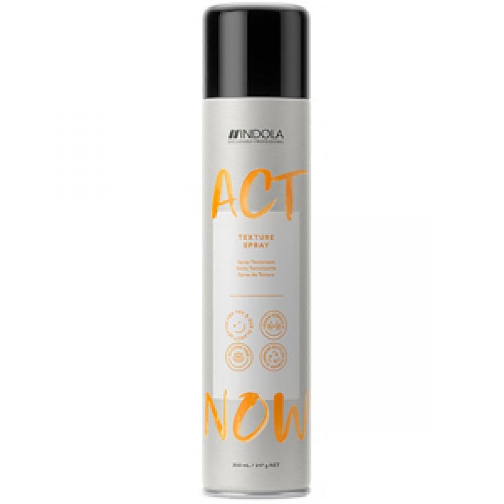 Текстурирующий спрей для укладки волос ACT NOW Indola