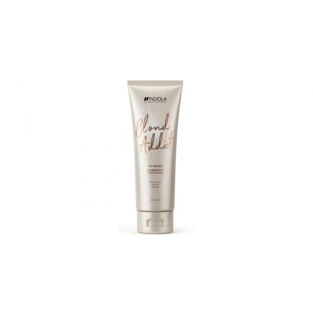 Шампунь оттеночный для светлых волос BLOND ADDICT Indola