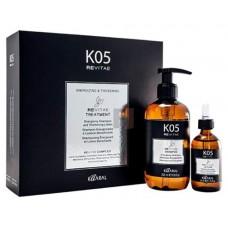 Набор для волос K05 (тонизирующий шампунь 250 мл, укрепляющий лосьон 50 мл) Kaaral
