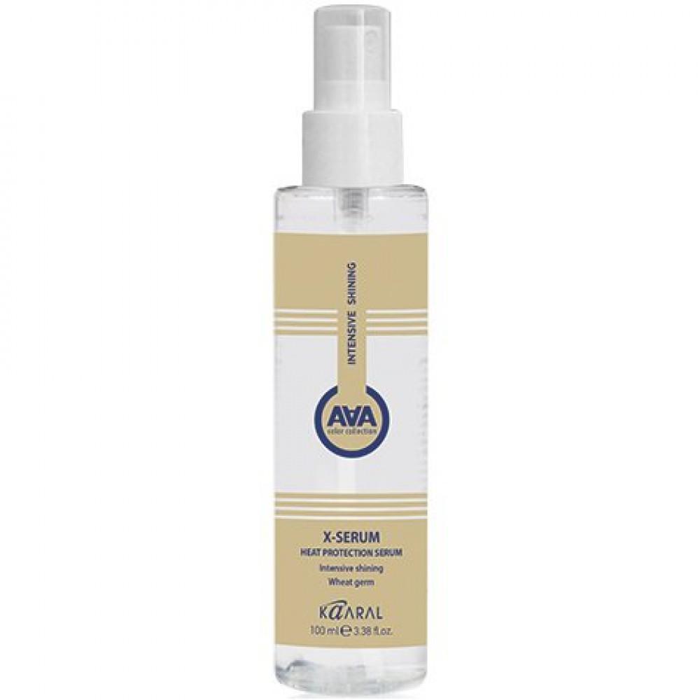 Сыворотка для защиты волос от термических воздействий с пшеничными протеинами X-Serum Heat Protection Serum Kaaral