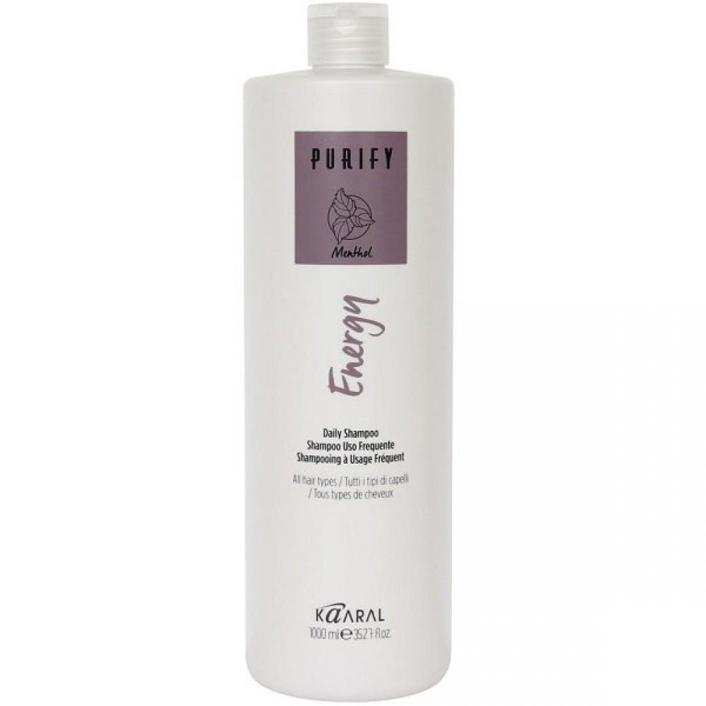 Интенсивный энергетический шампунь c ментолом Purify Energy Shampoo Kaaral