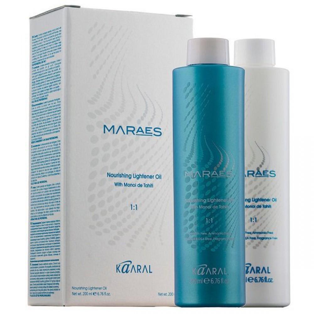 Осветляющее и увлажняющее масло для волос Maraes Nourishing Lightener Oil Kaaral