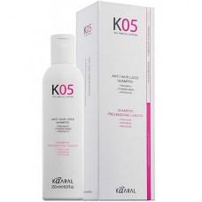 Шампунь для профилактики выпадения волос К05 Anti Hair Loss Shampoo Kaaral