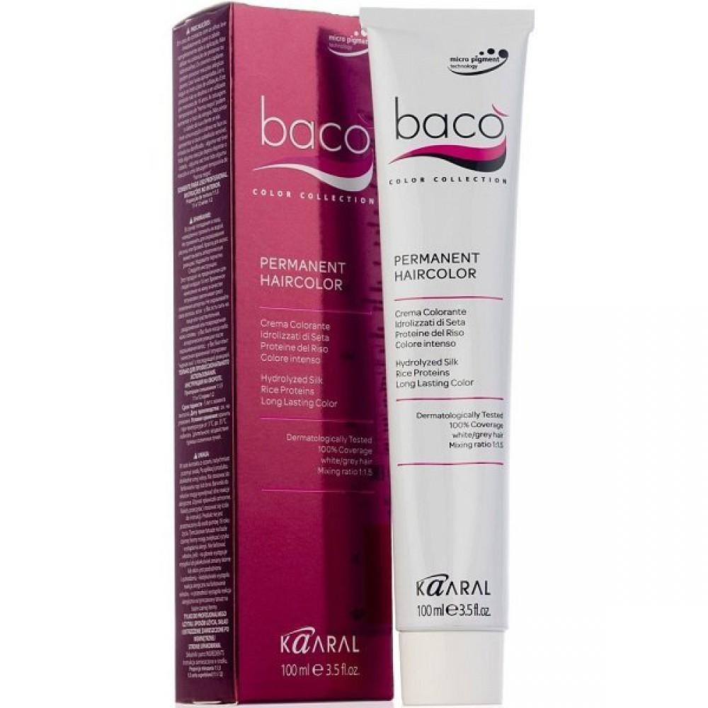 Крем-краска для волос Baco Permament Haircolor Kaaral