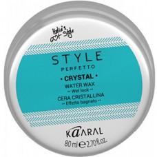 Воск для волос с блеском Style Perfetto Crystal Water Wax Kaaral