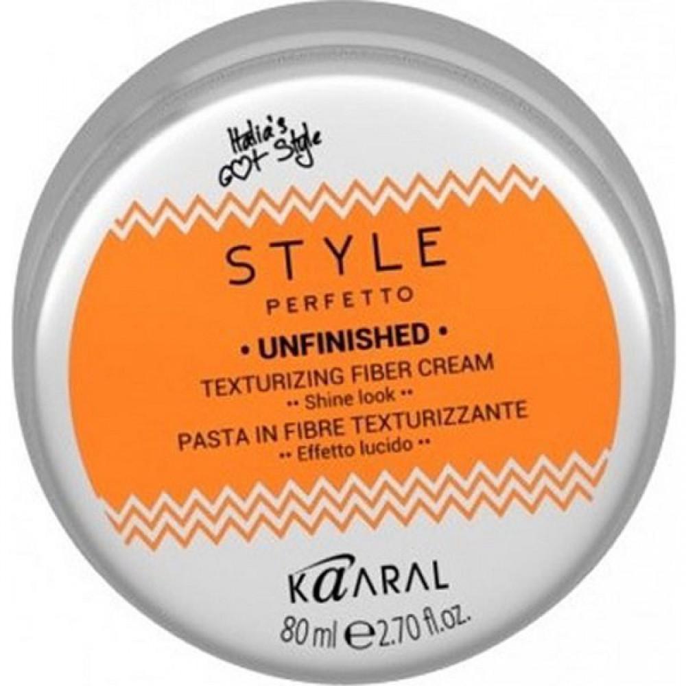 Волокнистая паста для текстурирования волос Style Perfetto Unfinished Texturizing Fiber Cream Kaaral