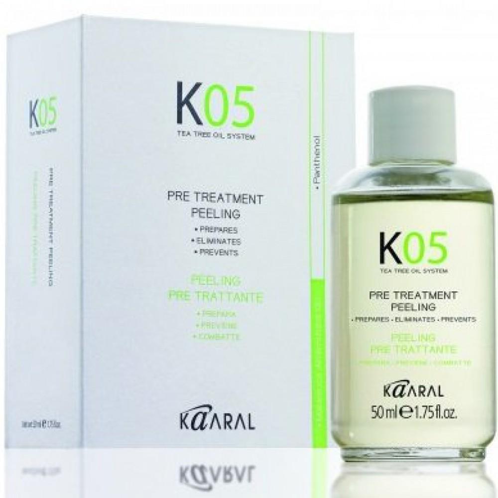 Лосьон глубокого очищения кожи К05 Pre Treatment Peeling Kaaral