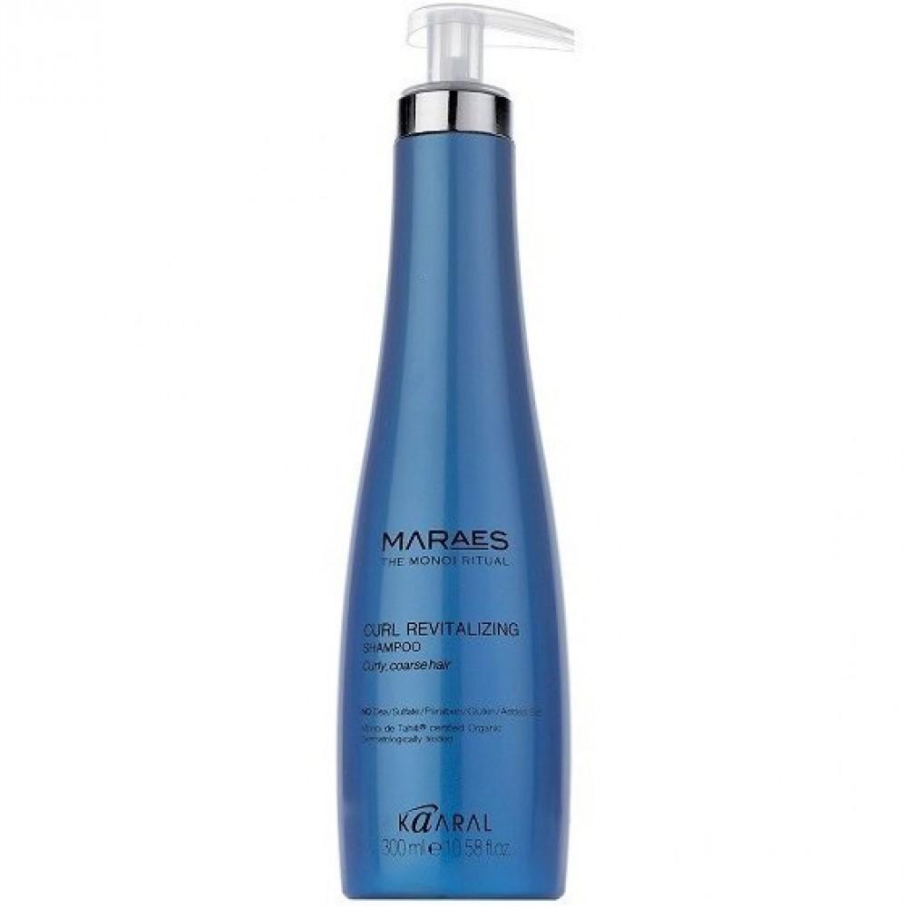 Восстанавливающий шампунь для вьющихся волос Maraes Curl Revitalizing Shampoo Kaaral
