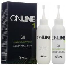 Набор для химической завивки волос On Line Permanent Wave Kaaral