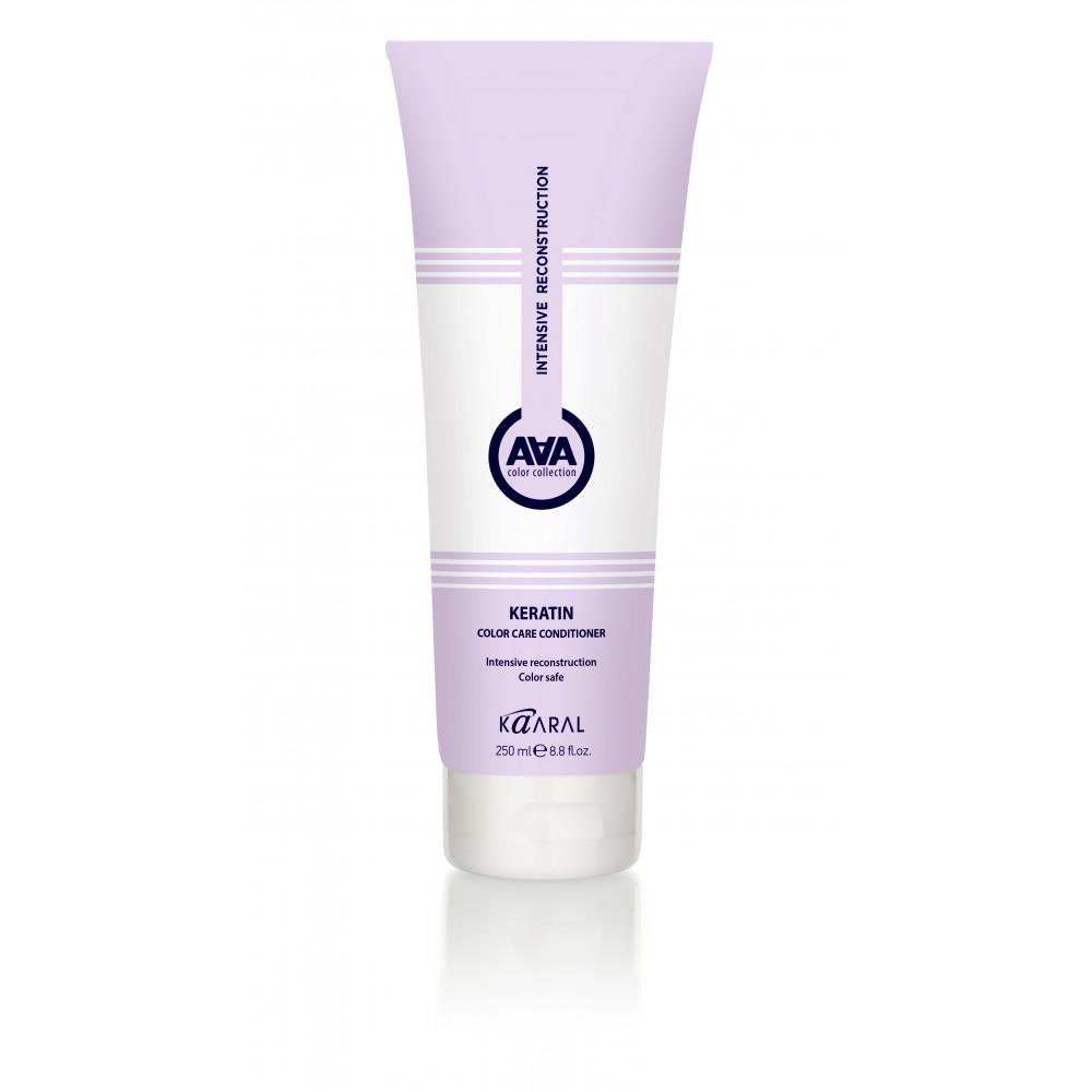 Кератиновый кондиционер для окрашенных и химически обработанных волос AAA Keratin Color Care Conditioner Kaaral