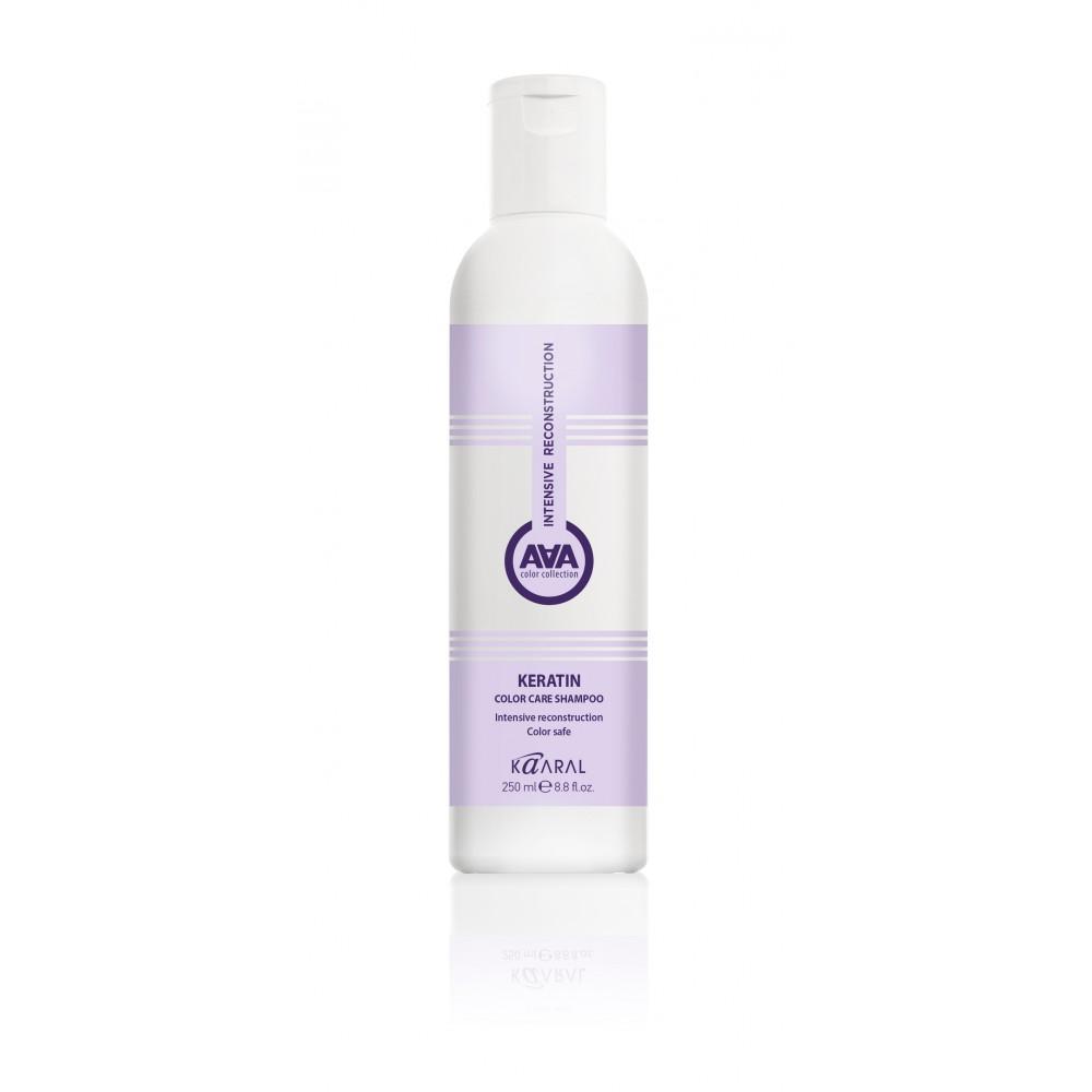 Кератиновый шампунь для окрашенных и химически обработанных волос AAA Keratin Color Care Shampoo Kaaral