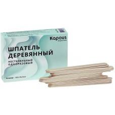 Шпатель деревянный 150*18*2 мм Kapous