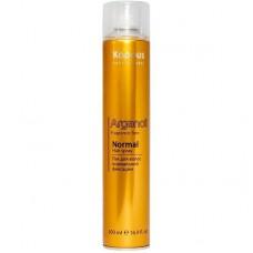 Лак для волос нормальной фиксации с маслом арганы Arganoil Kapous
