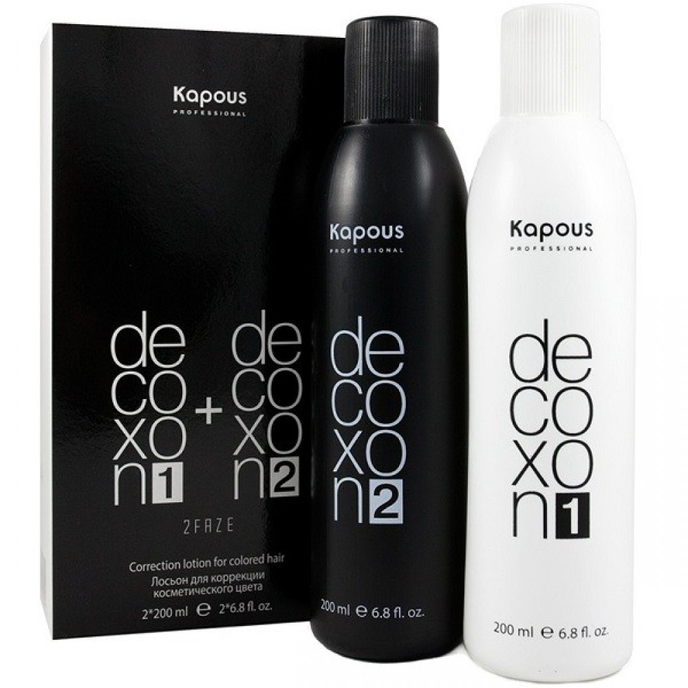 Средство для снятия цвета Decoxon 2Faze Correction Lotion Kapous