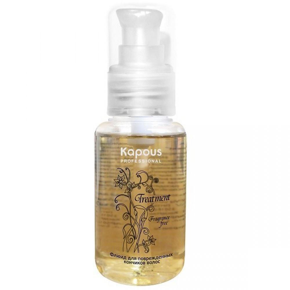 Флюид для поврежденных кончиков волос Treatment Kapous