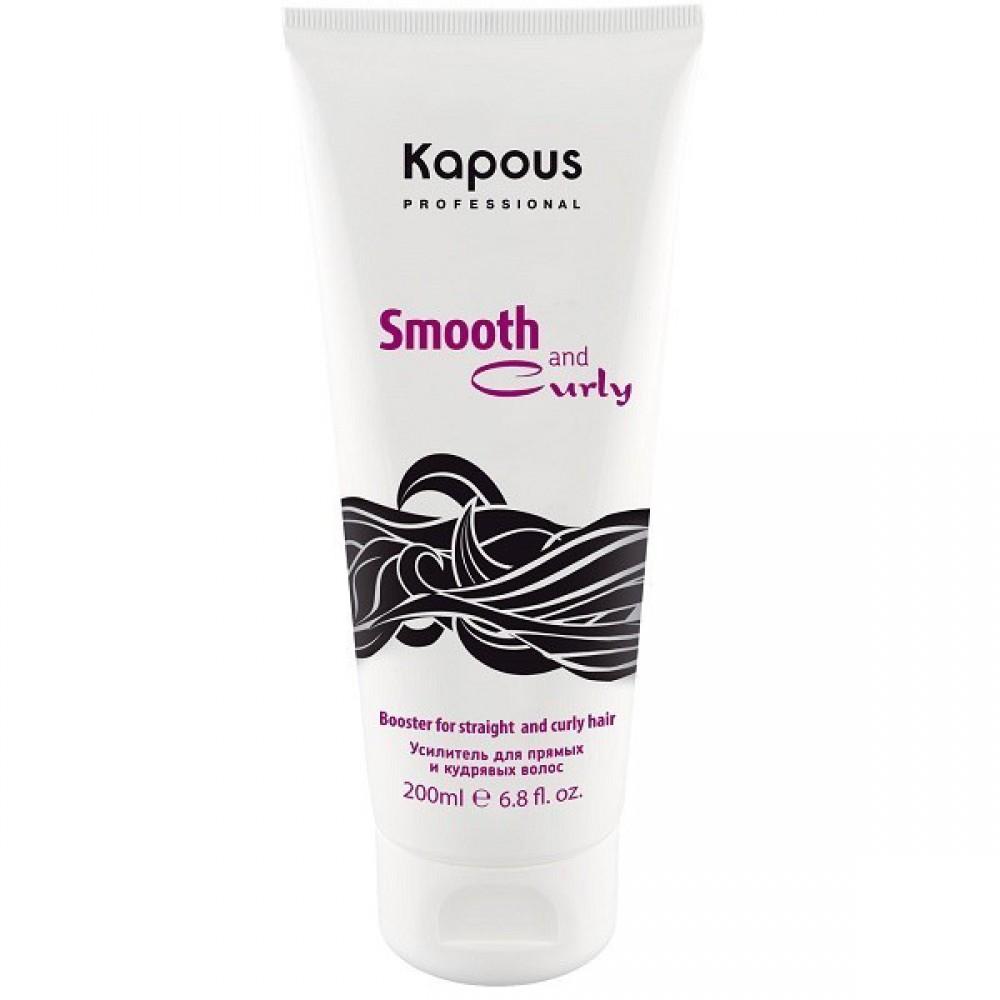 Усилитель для прямых и кудрявых волос двойного действия Kapous