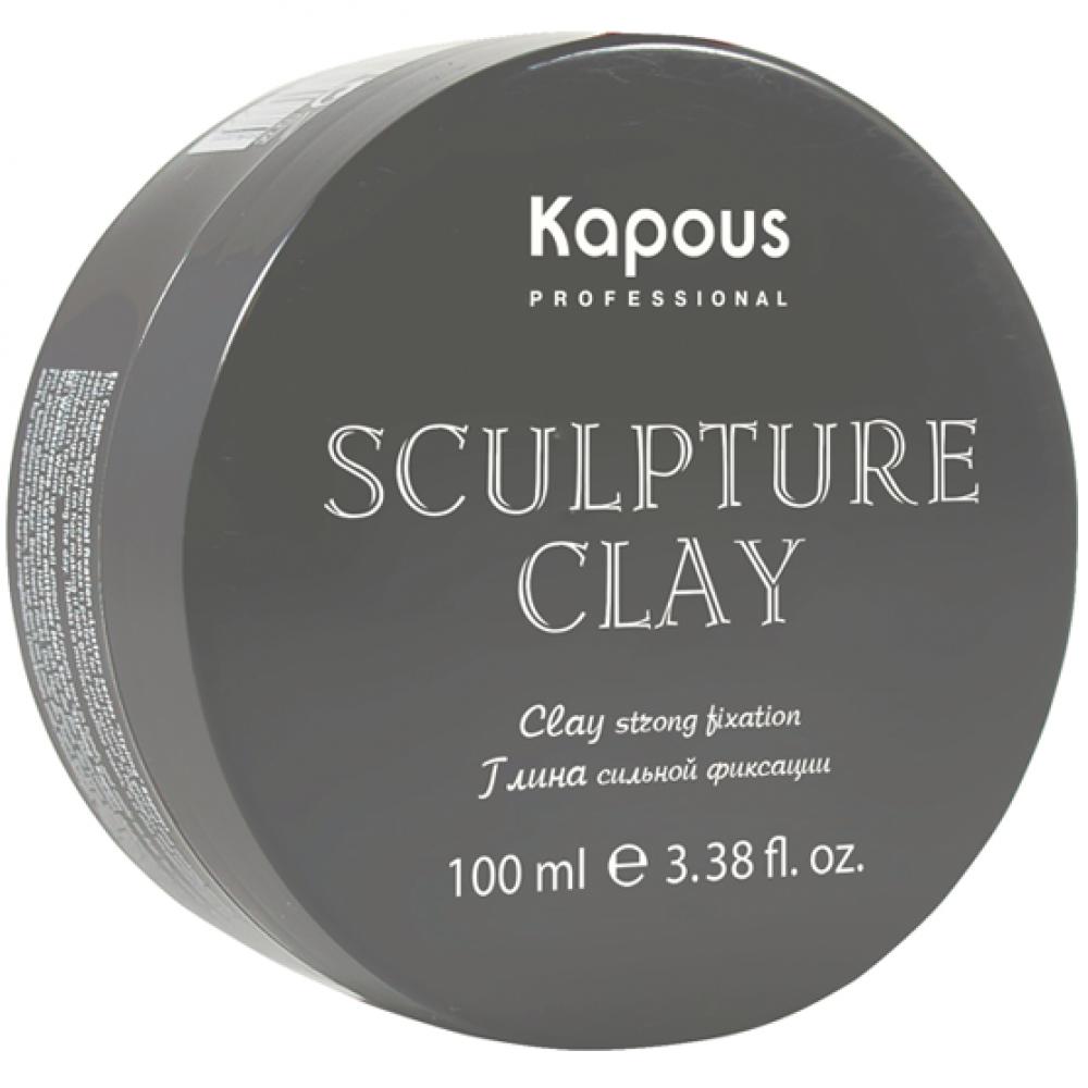 Глина для укладки сильной фиксации Sculpture Clay Kapous