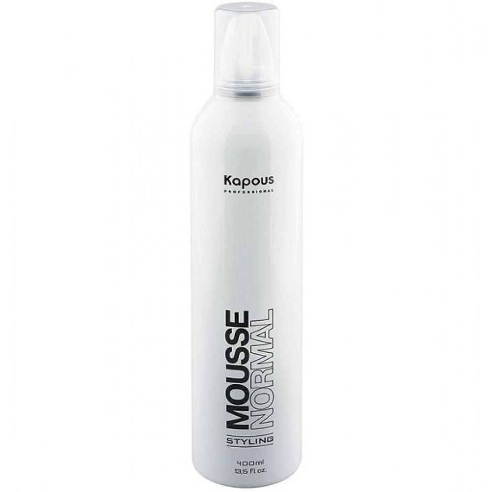 Мусс для укладки волос нормальной фиксации Kapous