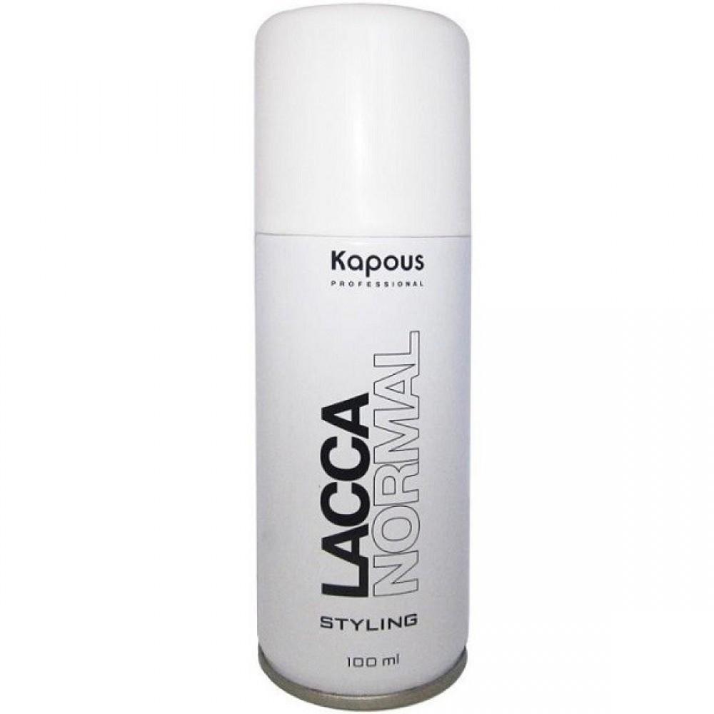 Лак аэрозольный нормальной фиксации Lacca Normal Kapous