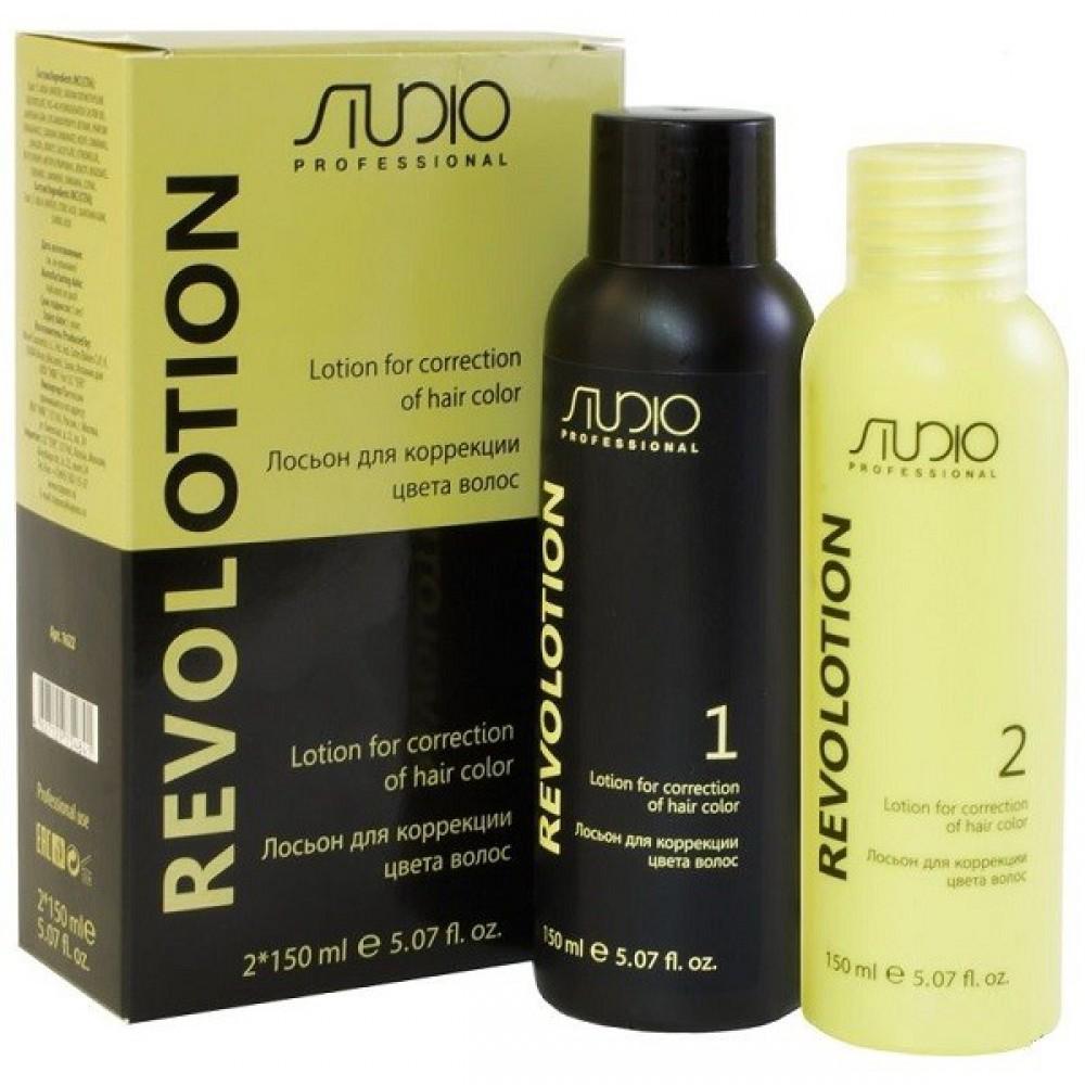 Лосьон для коррекции цвета волос RevoLotion Kapous Studio