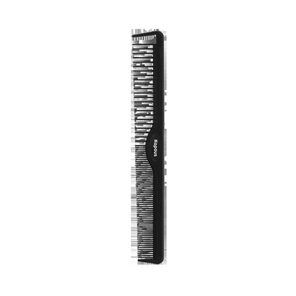 Расческа парикмахерская «Carbon fiber» 212*28 мм Kapous