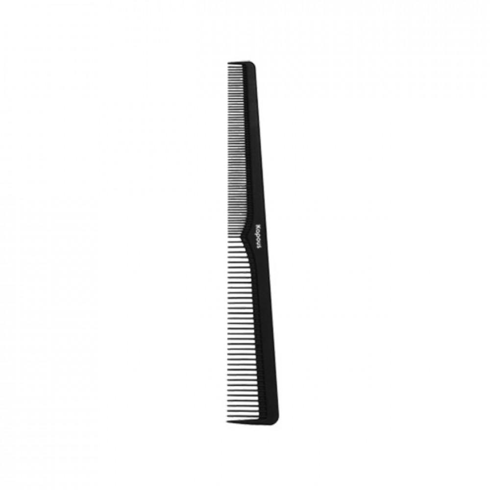 Расческа парикмахерская «Carbon fiber» 183*25 мм Kapous