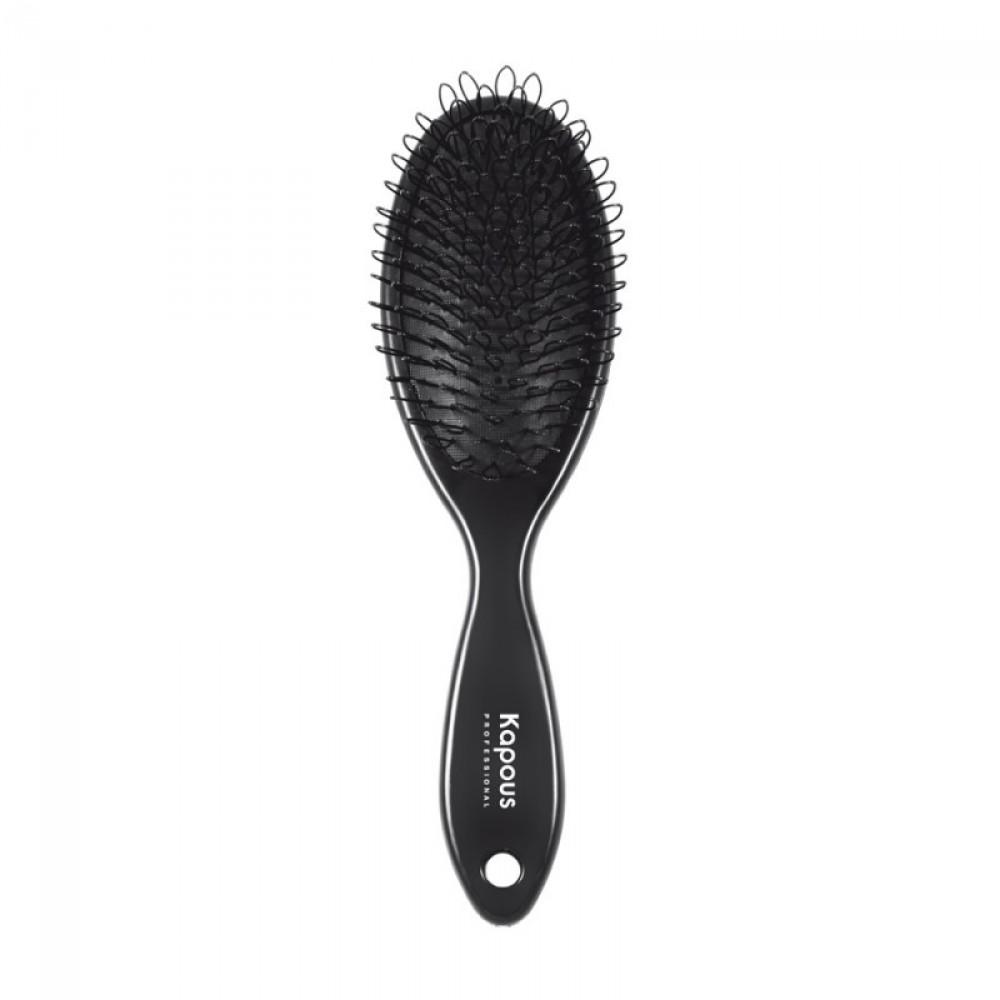 Расческа 1449 с петлями для нарощенных волос Kapous