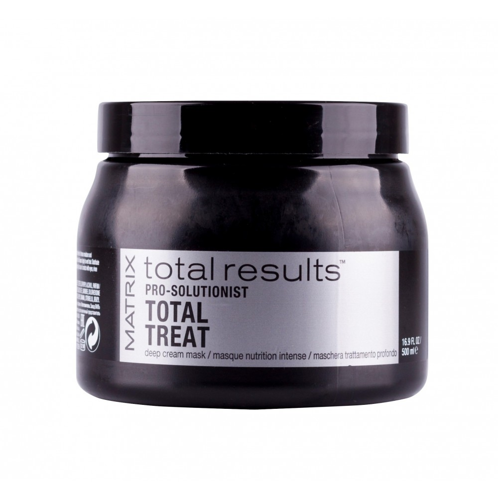 Крем-маска для глубокого ухода за волосами Total Results Pro Solutionist Total Treat Matrix