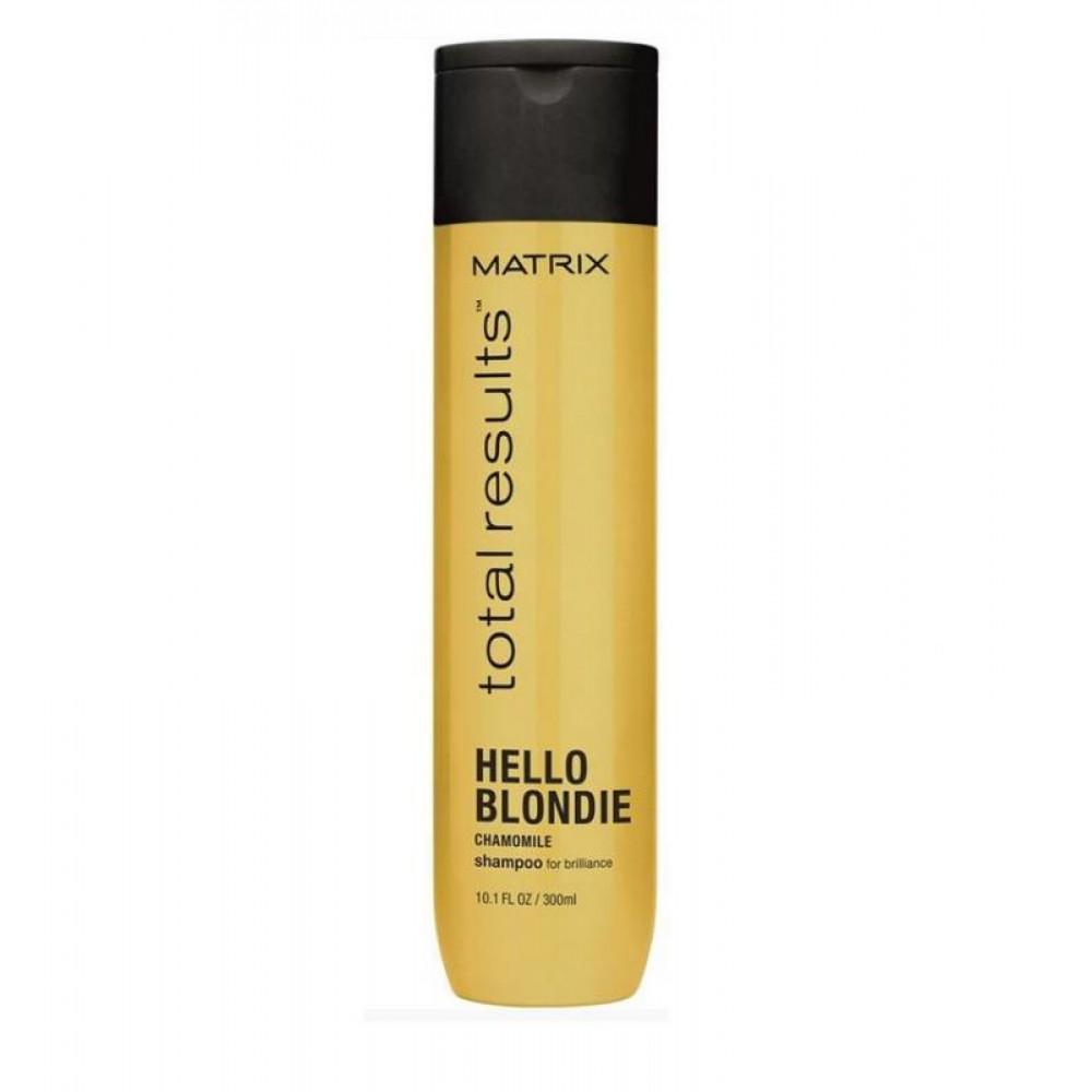 Шампунь для светлых волос Total Results Hello Blondie Matrix