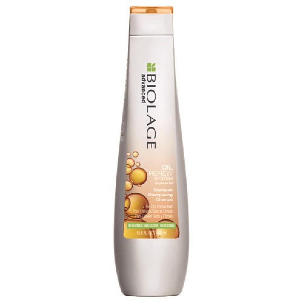 Шампунь с соевым маслом Biolage Oil Renew Matrix