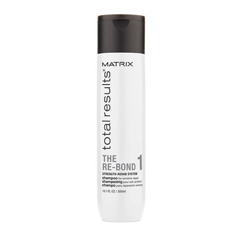 Шампунь для восстановления осветлённых волос Total Results Re-Bond Matrix