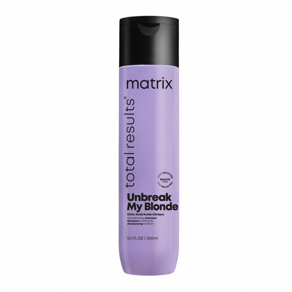 Шампунь для укрепления волос Total Results Unbreak My Blonde Matrix