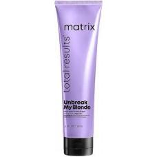 Несмываемый крем-уход для укрепления волос Total Results Unbreak My Blonde Matrix