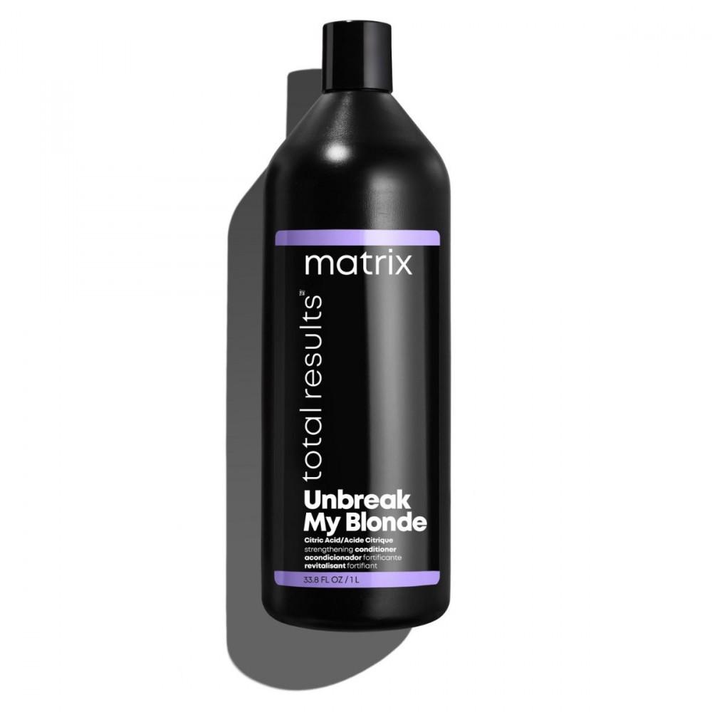 Кондиционер для укрепления волос Total Results Unbreak My Blonde Matrix